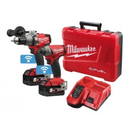 MILWAUKEE M18 ONEKEY 2 PIECE KIT INCLUDING DRILL AND IMPACT DRIVBER EACH
