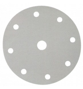 SANDING DISC WHITE 150MM/60# PUNCHED X50 EACH