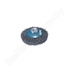 BEVEL BRUSH CRIMPED 100MM X M14 EACH