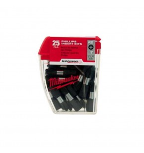 #2 SQUARE INSERT BIT SHOCKWAVE 10 PACK Each