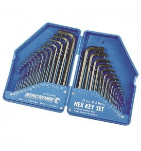 HEX KEY WRENCH SET 30PCE Each