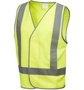 DAY/NIGHT HI VIS VEST LARGE Each