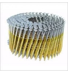 2.5MM X 50MM RING ELECTRO GAL COIL NAILS WIRE COLLATED (6600) EACH