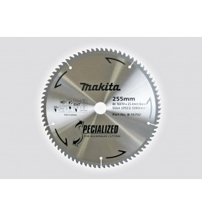 TCT SAW BLADE ALUMINIUM CUTTING 260MM X 25.4 X 80T EACH