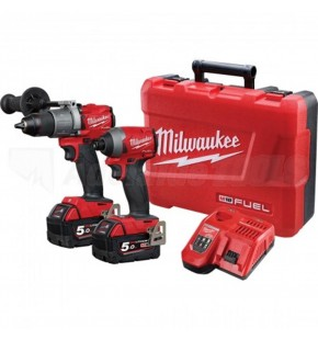 MILWAUKEE M18 FUEL GEN 3 CORDLESS 2 PIECE KIT M18FPP2A2-502C EACH