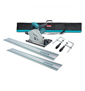 MAKITA PLUNGE CUT CIRCULAR SAW, 2 X 1400MM TRACKS KIT Each