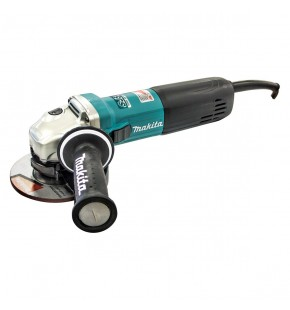 MAKITA 125MM ANGLE GRINDER DEADMAN SWITCH 1400W VARIABLE SPEED EACH