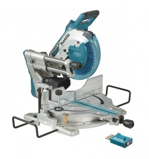 MAKITA CORDLESS BRUSHLESS BLUETOOTH 2 X 18V DLS111ZU 260MM SLIDE COMPOUND MITRE SAW - TOOL ONLY EACH
