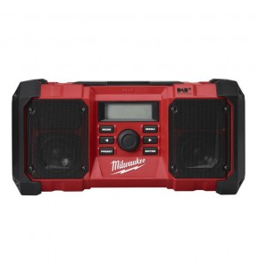Milwaukee M18 Jobsite Radio 18V (FM/DAB/DAB+) - Tool only (digital radio) M18JSRDAB+-0 Each