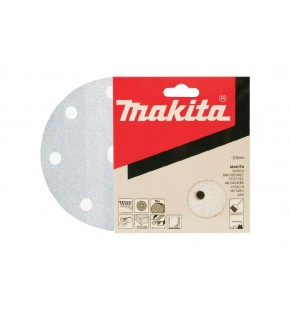 SANDING DISC WHITE 125MM/120#PUNCHED X10 EACH