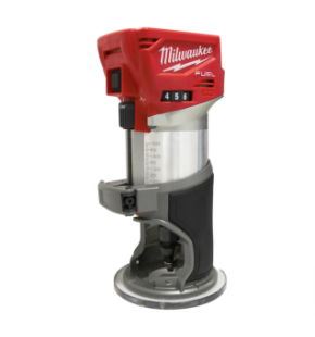 Milwaukee Brushless Cordless Router / Laminate Trimmer - Tool Only M18FTR EACH