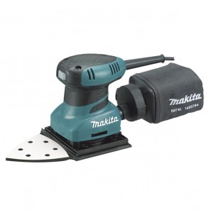 MAKITA FINISHING SANDER WITH TRIANGLE BASE - INCLUDES ASSORTED SANDING PAPERS Each