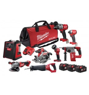 Milwaukee 8 Piece Kit