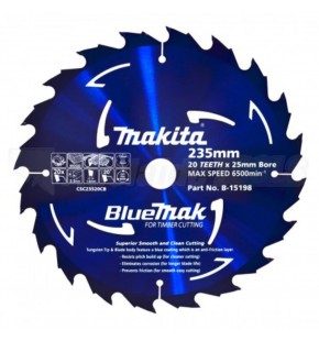 MAKITA BLUE MAK SAW BLADE 235MM X 20TH Each
