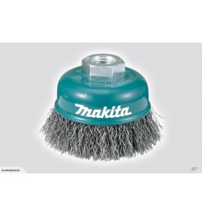 MAKITA CRIMPED CUP WIRE BRUSH 60MM 14X2MM Each