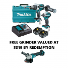 Makita 18V 2 Piece Brushless Combo DLX2176G EACH