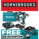 MAKITA DLX2176T 2 PIECE 18vVHEAVY DUTY BRUSHLESS KIT INCLUDES 2 X 5.0AH BATTERIES