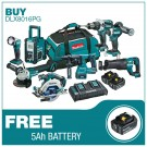 Makita 8 piece kit