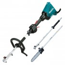 MAKITA 18V X 2 (36V) CORDLESS MULTIFUNCTION TOOL WITH CHAINSAW ATTACHMENT EACH