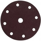 SANDING DISC 150MM/ 180# PUNCHED (50pcs) EACH