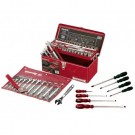SIDCHROME 78 PIECE METRIC & AF TOOL KIT Each