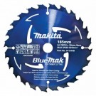 MAKITA BLUE SAW BLADE 185 X 20 X 24T Each
