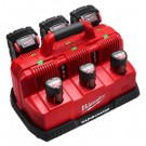 MILWAUKEE M12-18C3 MULTI BAY RAPID CHARGER STATION