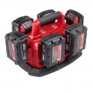 MILWAUKEE M1418C6 M18 6 PACK SEQUENTIAL CHARGER
