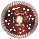 DIAMOND BLADE TURBO THIN 125MM BLADE RED