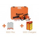 RAMSET FORMMASTER PA TOOL WITH 1000 PINS AND CHARGES Each