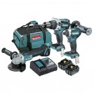 MAKITA 18V CORDLESS BRUSHLESS 3 PIECE LITHIUM ION COMBO KIT