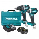 MAKITA DLX2180X 18V BRUSHLESS CORDLESS 2 PIECE COMBO KIT EACH