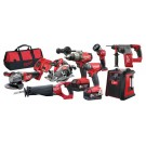 MILWAUKEE 8PCE GENII BRUSHLESS 18V KIT Each