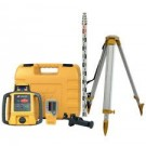 TOPCON RLH-5B LASER LEVEL WITH TRIPOD & STAFF