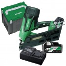 HIKOKI NR1890DBCL (HRZ) 90MM 18V LI-ION CORDLESS BRUSHLESS FRAMING NAILER INC 2 X 6.0AH BATTERIES  EACH