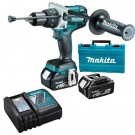 MAKITA 18V BRUSHLESS HAMMER DRILL SET DHP481RTE EACH