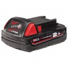 Milwaukee M18 RED LITHIUM 2.0Ah Battery Pack M18B2 Each