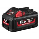 Milwaukee M18 REDLITHIUM High Output 6.0Ah Battery Pack M18HB6 Each