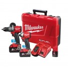 Milwaukee M18 ONE-KEY™ Power Pack 2A2 (M18ONEPD2-0, M18ONEID2-0) Bonus M12B2 M18ONEPP2A2-502C Each