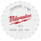 "Milwaukee 210mm (8-1/4"") 24-Tooth Framing Wood Circular Saw Blade 48408820 EACH"