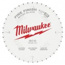 "Milwaukee 210mm (8-1/4"") 24-Tooth Fine Finish Wood Circular Saw Blade 48408822 EACH"