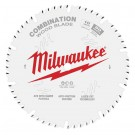 "Milwaukee 254mm (10"") 50-Tooth Combination Wood Circular Saw Blade 48408026 EACH"