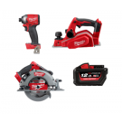 "MILWAUKEE M18 FUELâ""¢ 3pc BOOSTER PACK  M18XP3A-121 EACH"
