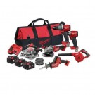 MILWAUKEE M18 FUEL 6 PIECE KIT M18FPP6A2-503B EACH