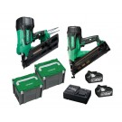 HIKOKI 18V 18VFRAMERCOMBO1 2 PIECE NAIL GUN KIT EACH