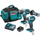 Makita 2 Piece Brushless Combo Kit - DLX2250S Each