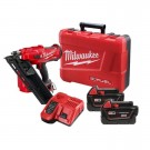 Milwaukee Cordless Framing Gun Kit inc 2 Batteries & Charger Each