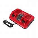 MILWAUKEE DUAL PORT SAME TIME 18V CHARGER EACH