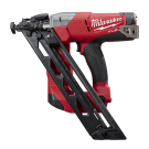 Milwaukee M18 FUEL 15GA Angled Nailer, 34° degree, 32-63mm, No GAS required, Case - Tool only M18CN15GA-0 EACH