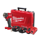 Milwaukee M18 FUEL Next Gen Square Driver Impact Wrench, Friction Ring- 5Ah Kit - M18FIW2F12-502C